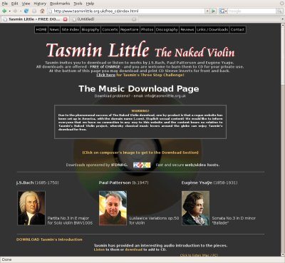 bodmas blog » Blog Archive » Free Classical music download